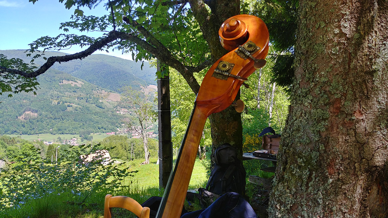 Jazzmusik für eine private Feier im Elsass