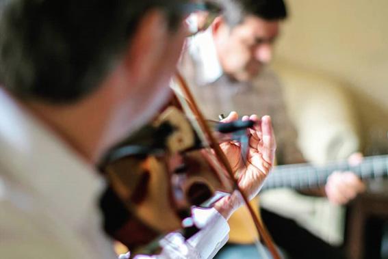 Musikalische Begleitung im Elsass